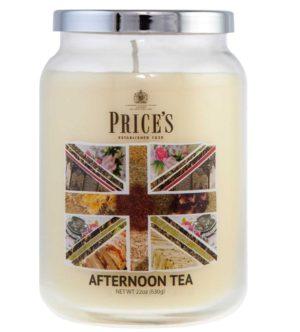 PRICE´S MAXI svíčka ve skle Afternoon tea, hoření 150h