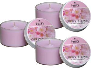 Price´s FRAGRANCE vonné svíčky Višňový květ 123g 3ks