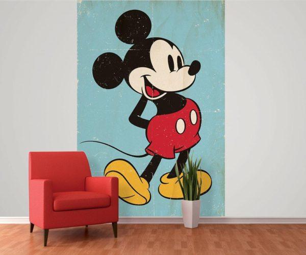 1Wall fototapeta Mickey Mouse retro 158x232 cm