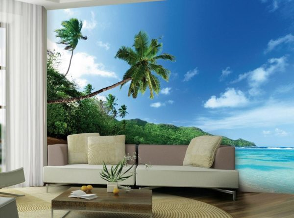 1Wall 1Wall Vliesová fototapeta Exotická pláž 366x253 cm