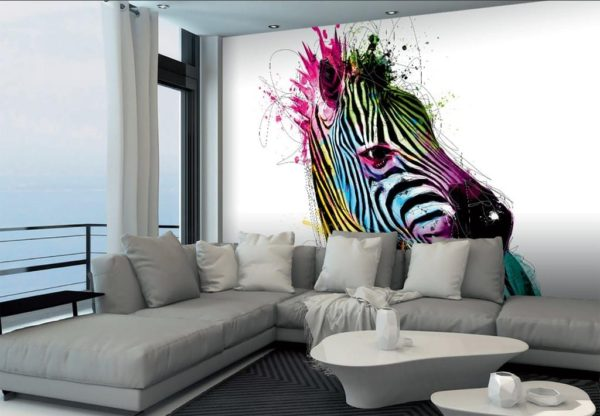 1Wall 1Wall Vliesová fototapeta Murciano Zebra 366x253 cm