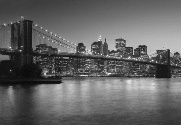 1Wall Vliesová fototapeta NY-Brooklynský most 366x253 cm