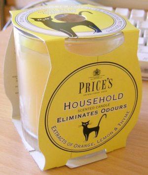 Price´s FRESH AIR vonná svíčka ve skle Provoněná domácnost 350g