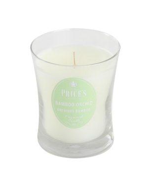Price´s SIGNATURE vonná svíčka ve skle Bambusová orchidej střední 425g