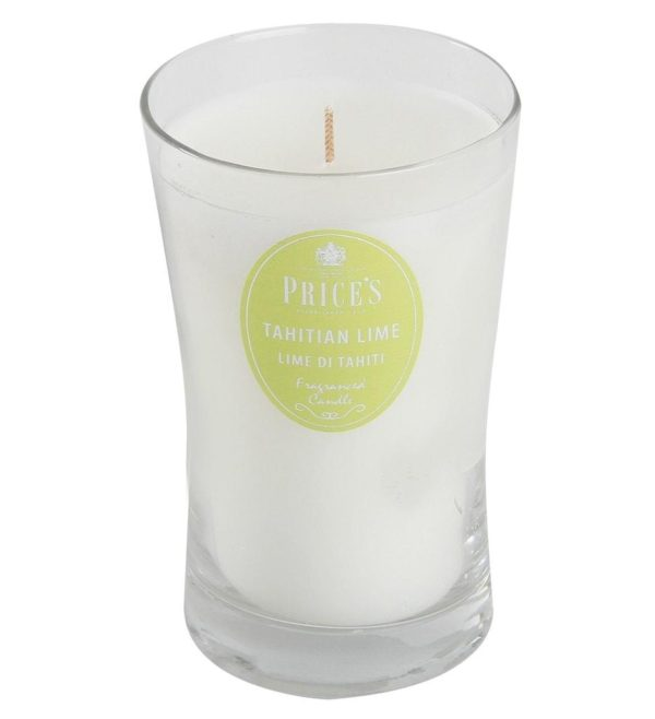 Price´s SIGNATURE vonná svíčka ve skle Tahitská limeta XL 615g