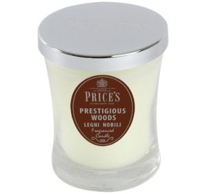 Price´s SIGNATURE vonná svíčka ve skle Prestigious woods střední 425g
