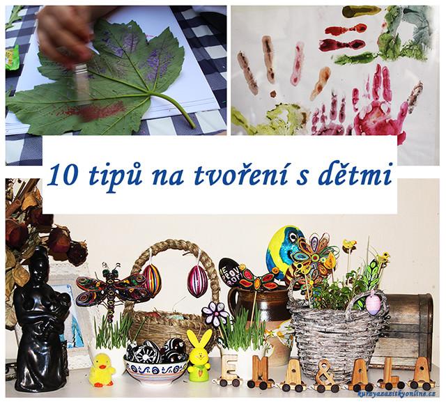 Fotografie:Tvoření s dětmi - 10 ukázek