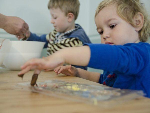 Foto čokoládové hrátky - zážitek pro děti