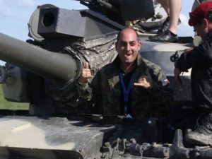Jízda v bojovém tanku – Milovice (Nymburk)