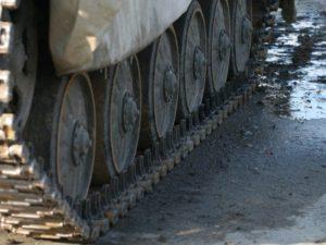 Jízda v obrněném transportéru