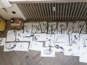 Tajemství kaligrafie – malba čínskou tuší – Praha 3