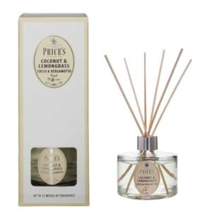 Price´s SIGNATURE bytový parfém Coconut & lemongrass 250ml