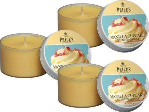 Price´s FRAGRANCE vonné svíčky Vanilkový cupcake 123g 3ks