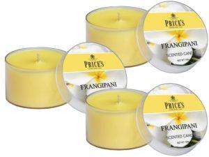 Price´s FRAGRANCE vonné svíčky Frangipani 123g 3ks