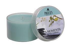 Price´s FRAGRANCE vonné svíčky Spa moments 123g 3ks