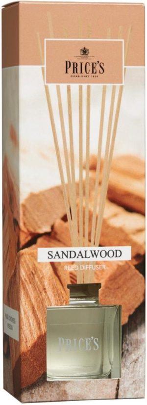 Price´s FRAGRANCE vonný difuzér Santalové dřevo 100ml