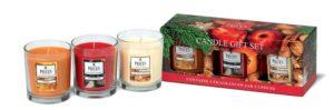 Price´s FRAGRANCE vonné svíčky ve skle Warm spices 3x350g