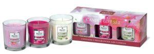 Price´s FRAGRANCE vonné svíčky ve skle set Floral 3x350g