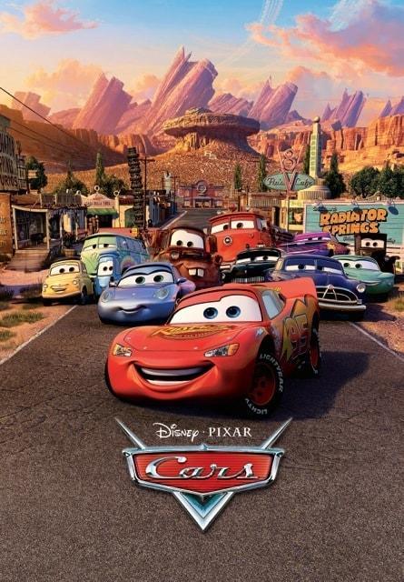 1Wall fototapeta Disney Cars 158x232 cm