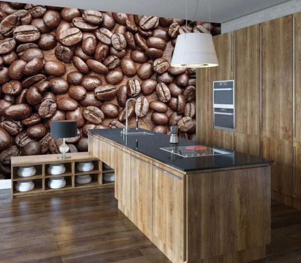 1Wall fototapeta Kávová zrna 315x232 cm