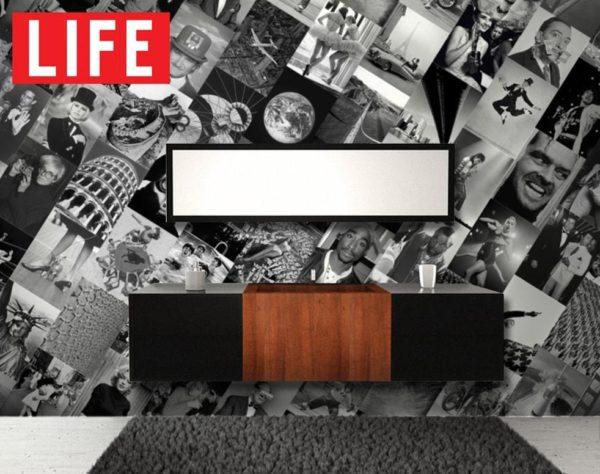 1Wall Kreativní koláž 64 dílů 37,5 x 27,5cm časopis LIFE