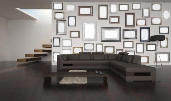1Wall Kreativní koláž 64 dílů 37,5 x 27,5cm rámy a zrcadla