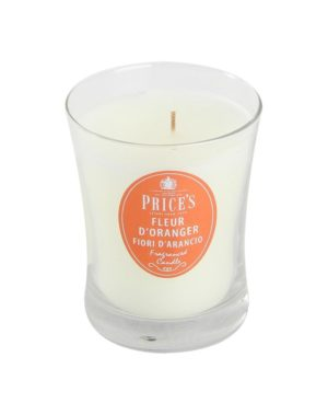 Price´s SIGNATURE vonná svíčka ve skle Květ pomerančovníku střední 425g