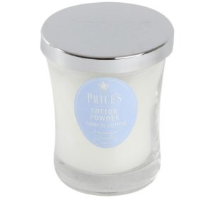 Price´s SIGNATURE vonná svíčka ve skle Nádech hebké bavlny střední 425g