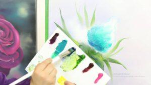 Jak malovat květiny – nejen pro začátečníky