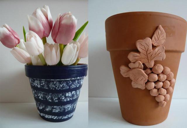 ozdobné květináče