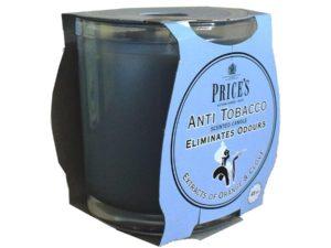 Price´s FRESH AIR vonná svíčka ve skle Anti tobacco 350g