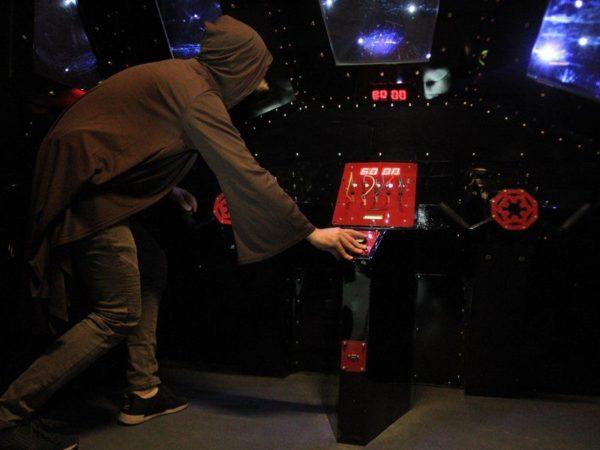 Foto:úniková hra hvězdné války