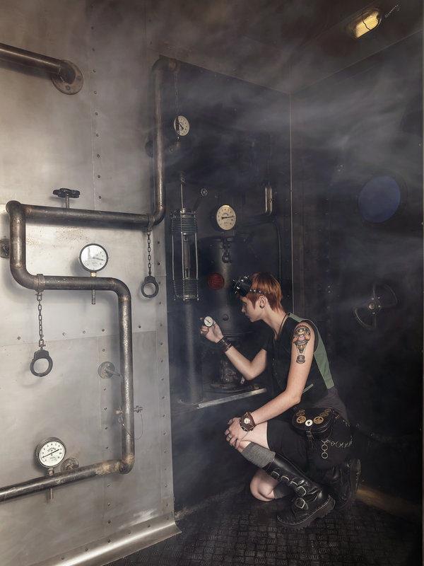 Foto:úniková hra zkáza Titaniku