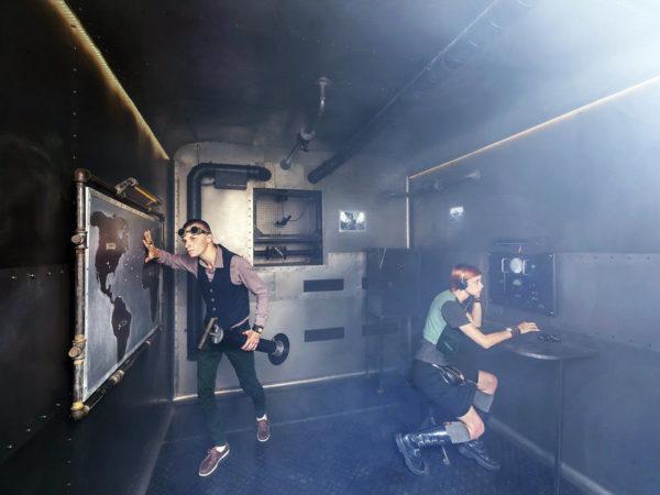 Foto: úniková hra pro dva zkáza Titaniku
