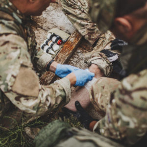 Vojenský kurz první pomoci – Praha/Česká Kubice