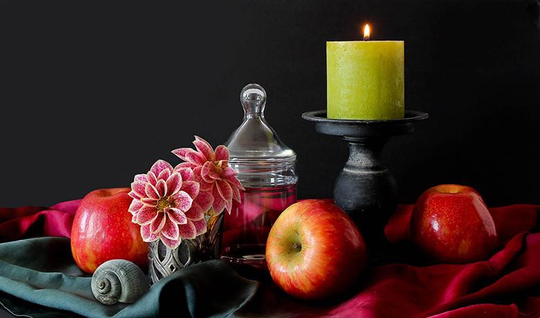 Foto:vonné svíčky