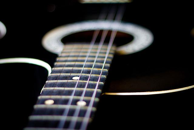 Foto: struny na kytaru