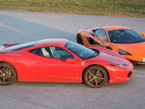 Ferrari 458 Italia vs. McLaren 570s