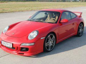 Jízda v Porsche 911 Carrera GT3