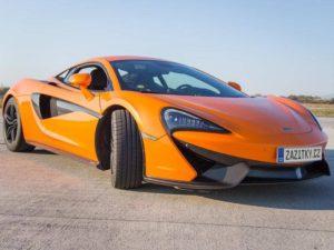 Lamborghini Gallardo vs McLaren 570s – Praha