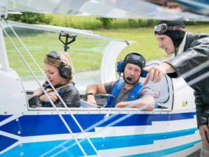 Let akrobatickým letadlem