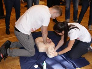 Zážitkový kurz první pomoci Praha