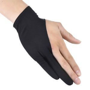 2 kusy ochranných rukavic při kreslení