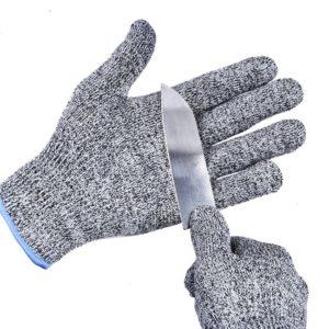 Kuchyňské rukavice proti pořezání