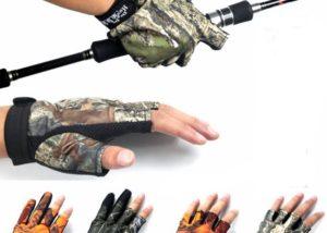 Fotografie: protiskluzove rybarske rukavice
