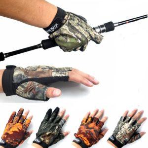 Rybářské protiskluzové rukavice ve 4 barvách