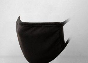 Rouška proti prachu v černé barvě