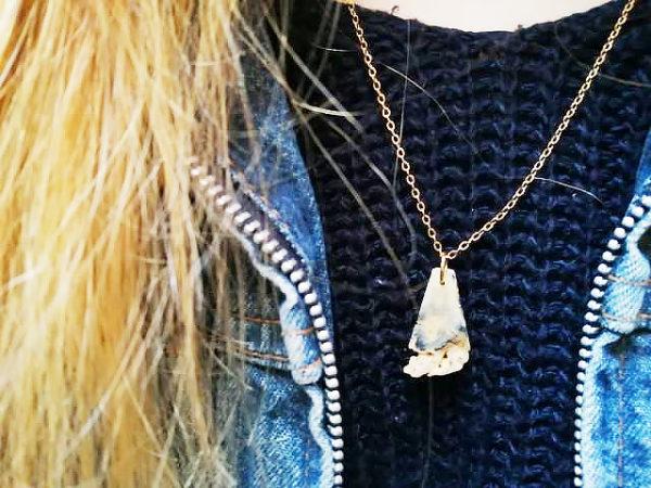 Fotografie: šperky z mušlí