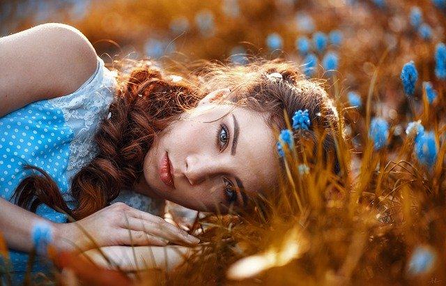 Fotografie: bylinné vlasové oplachy