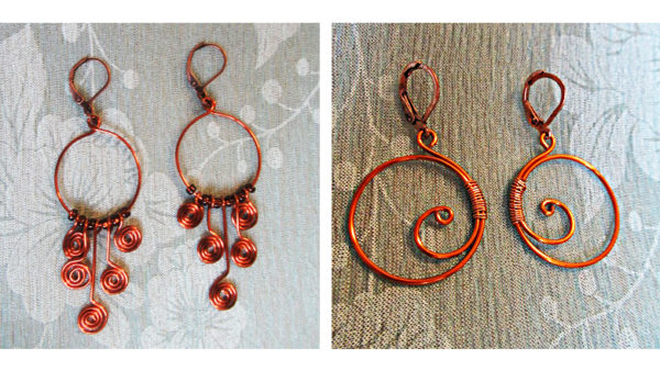 Fotografie: výroba drátovaných šperků